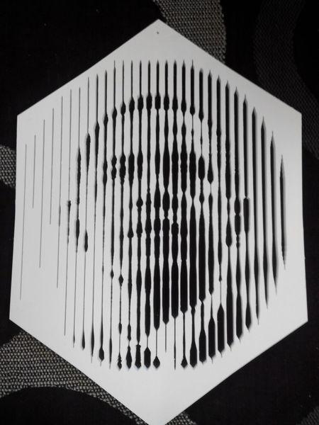 anamorphose pompidou obama gravure cin tique illusion d 39. Black Bedroom Furniture Sets. Home Design Ideas